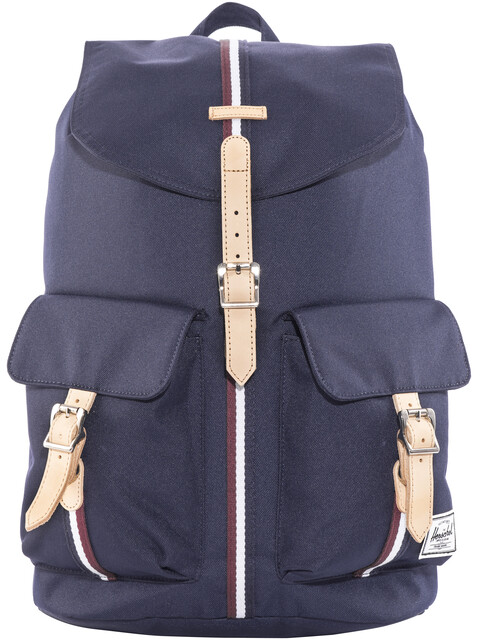 Herschel Dawson Backpack Peacoat/Windsor Wine/White
